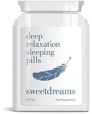 Sweet Dreams DEEP Relaxation Sleeping Pills – Insomnia Relax Sleep Tablets NO More Sleepless Nights