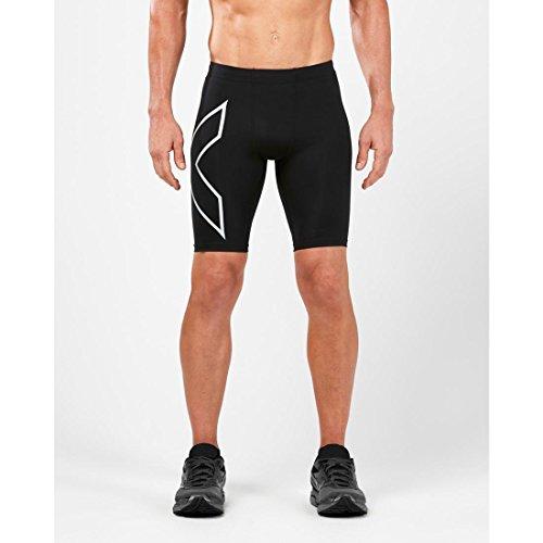 bolsillo negro corto x Men's U Run Comp 2 trasero plateado W YqPZz