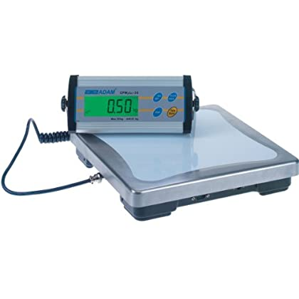 Image of Postal Scales Adam Equipment CPWplus 15 Bench Scale, 33lb/15kg Capacity, 0.01lb/5g Readability