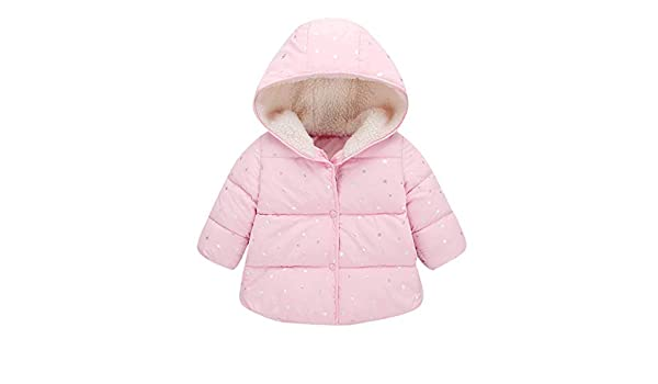 d3bf5d1d8 Amazon.com  Soft Winter Cotton Coat For Children Kids Baby Girl Boy ...