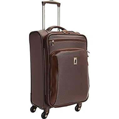 London Fog Kensington 21 Inch Expandable Spinner Carry-On