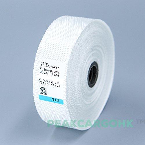 Woven Fiberglass Cloth Tape E-Glass Fiber Fabric Plain Weave 1 inch, Reinforced Repair Winding, Seams, Boat, Molding