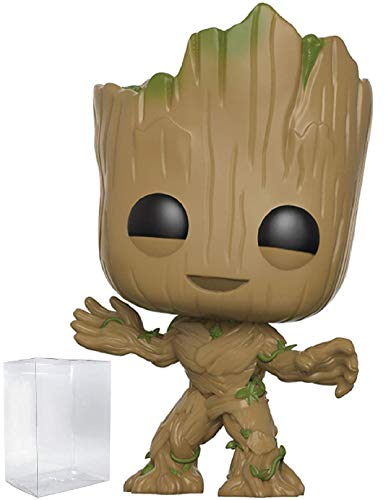 Marvel Funko Guardians of The Galaxy Vol. 2 - Toddler Groot Funko Pop! Vinyl Figure (Includes Compatible Pop Box Protector Case)
