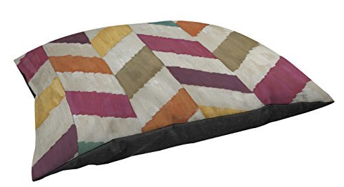 Thumbprintz Fleece Top Toy or Small Breed Pet Bed, Somersault, Multi colord by Thumbprintz