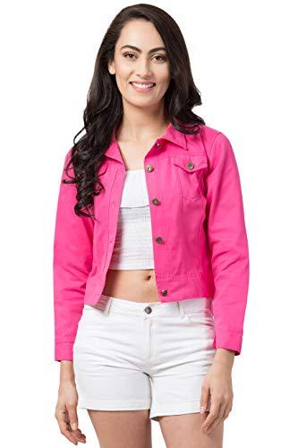 FUNDAY FASHION Women's Self Design Solid Jacket