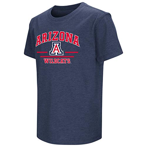 Arizona Wildcats Youth NCAA Super Fan Short Sleeve Tee - Team Color, Youth Large