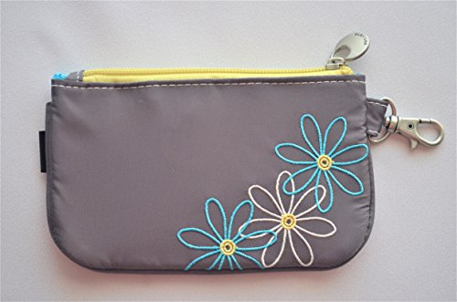 Travelon Safe Daisy Id Pouch, Pewter