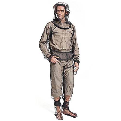 KOBWA Mosquito Suit, Lightweight Anti Mosquito Net Repellent Clothing,Ultimate Protection from Bugs,Perfect for Outdoor Adventure Camping Fishing