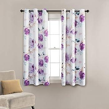 63 Inch Light Blue Kitchen Curtain Panels