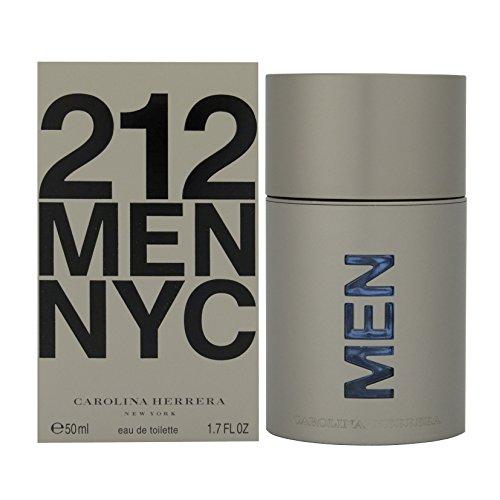 [212 By Carolina Herrera For Men. Eau De Toilette Spray 1.7 Ounces] (Men 50ml Eau De Toilette)