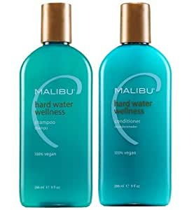 Malibu C Hard Water Wellness Shampoo & Conditioner (2x9 oz)