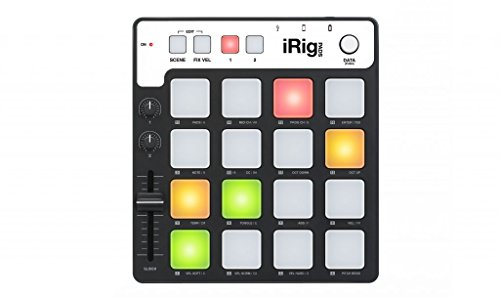 IK Multimedia iRig Pads MIDI groove controller for iPhone, iPad and ()