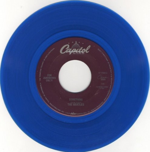 Beatles: Something / Come Together (blue vinyl 45 RPM)