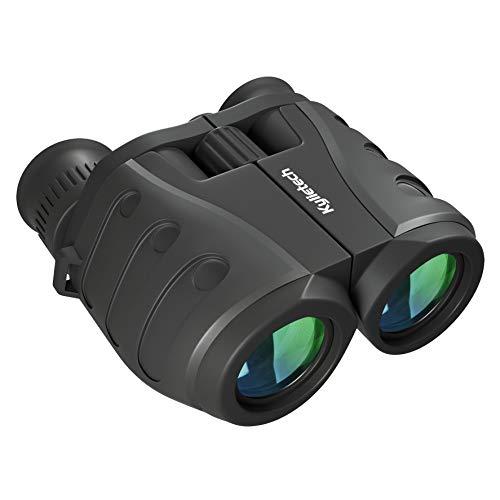 Binoculars, Kylietech 10X25 Compact HD Professional Binoculars Weak Light Night Vision High Powered Lightweight or Bird Watching Travel Stargazing Hunting Concerts