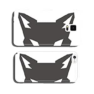 wolf head robot cell phone cover case Samsung S5