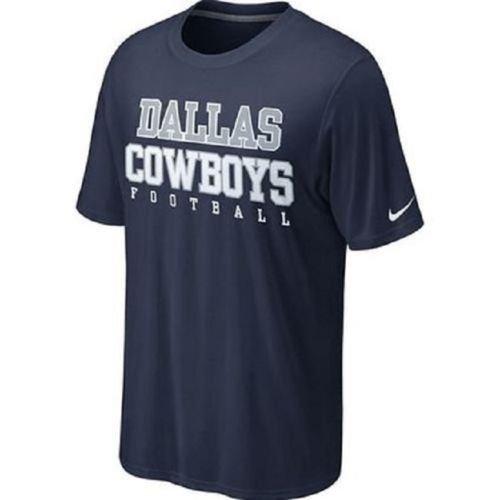 Dallas Cowboys Tee (NIKE Men's Dallas Cowboys Legend Practice T Shirt Navy Size X-Large)