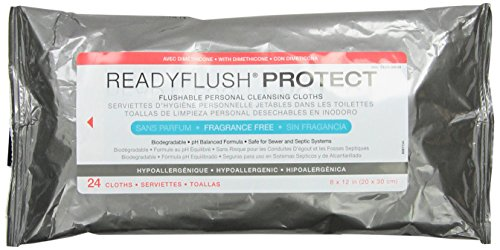 Medline Readyflush Biodegradable Flushable Wipes