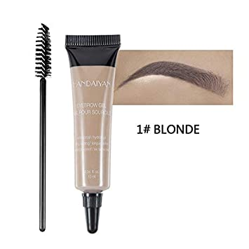 Amazon Com Henna Eyebrow Gel Tint Eyebrow Dye Cream Caramel Black