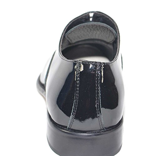 018 Italy Vera Scarpe Fondo Vernice Man Colore Cuoio Pelle Business Made Vero Calzature Nero MP Art Eleganti in in wqHPT4w