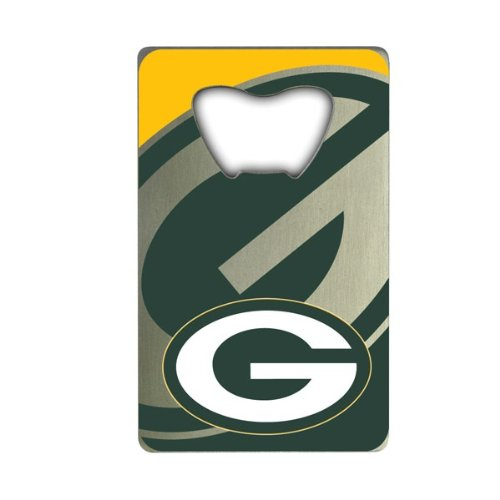 NFL Green Bay Packers Credit Card Style Bottle Opener