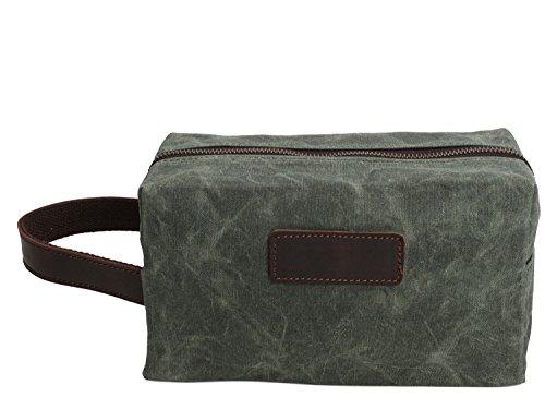 Bolsa Ying de Bolsa de de Bags bolso de aceite Bronze lavado de de lavado retro de masculino hombre de lona embrague lona g4drqw4