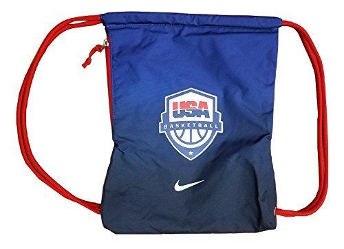 Nike Men's USA Basketball Gym Sack Navy/Red PBZ605-461
