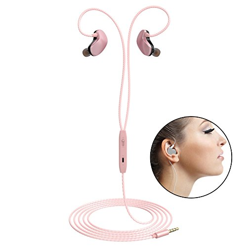Sports Earphones Wired Noise Isolating Headphones ...