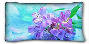 Custom Animal Custom Cotton & Polyester Soft Rectangle Pillow Case Cover 20x36 inches (One Side) suitable for King-bed
