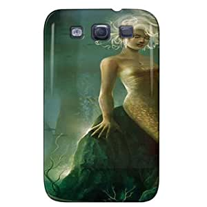 Slim Fit Design For Galaxy S3 Protective Hard Case Green SZAh251LkoQ