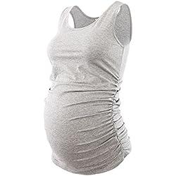 Jinson Basic Layering Maternity Tank Top