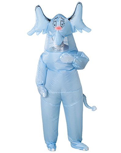 Spirit Halloween Adult Inflatable Horton Hears a Who Costume - Dr. Seuss -