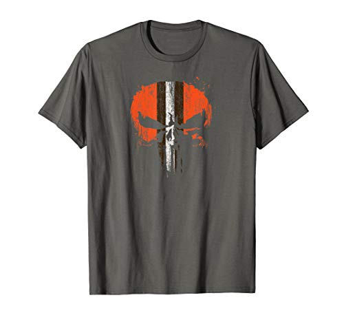 Dawg Helmet Skull Ohio Fan T-shirt ()