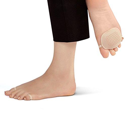 Ball-of-Foot Sock Cushion - Washable – SockShion by SHEEC - Cream 1 - Show Cushion Socks