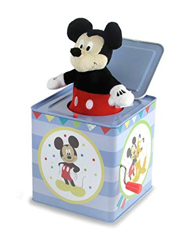 Disney Baby Mickey Mouse Jack-in-The-Box - Musical Toy for Babies
