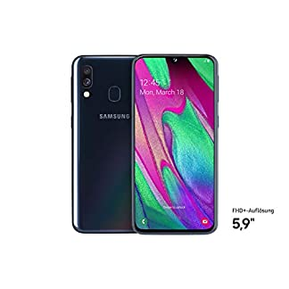 Samsung Galaxy A40 Smartphone (15.0cm (5.9 Zoll) 64GB interner Speicher, 4GB RAM, Dual SIM, schwarz) - Deutsche Version 6