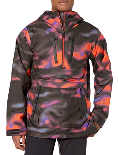 Volcom Men's Brighton Pullover 2 Layer Snow Jacket