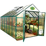 Systems Trading EG45812 Backyard Hobby Greenhouse, Green, 8 By 12 Feet (Discontinued by Manufacturer)