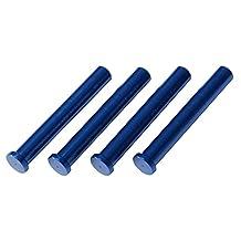 Traxxas 6633X Blue-Anodized 7075-T6 Aluminum LaTrax Alias Main Shaft (Set of 4)
