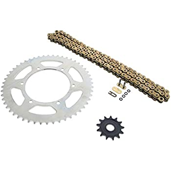 2001-2006 Yamaha WR250F 250 F Gold O Ring Chain And Sprocket 14/51 ...