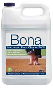 Bona Hardwood Floor Cleaner Refill, 128 oz, Clear