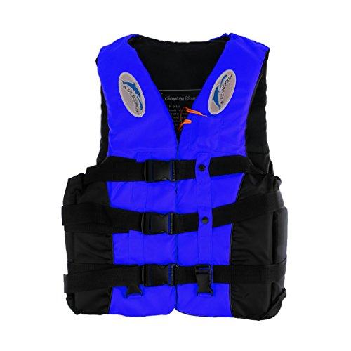 MonkeyJack Universal Adult Life Jacket Kayaking SUP Surfing Swimming Drifting Sailing Vest Safety Flotation Device - 2 Size - XXL price
