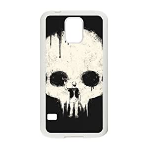 Samsung Galaxy S5 Cell Phone Case White PAINT IT BLACK MWN3929262