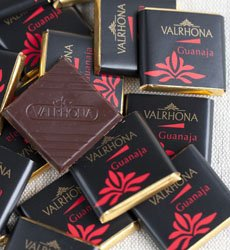 "Valrhona French Chocolate - Bulk Squares ""Guanaja"" 70% Cocoa, 50ct/bag"