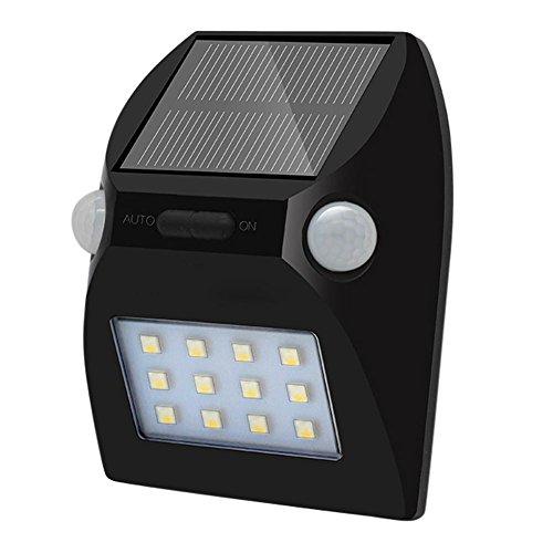 Hard-Working Hot Sale 5050smd 12led Solar Ip65 Waterproof Dual Pir Motion Sensor Rgbw Garden Light Wall Lamp With 3 Sensor Control Modes Lights & Lighting