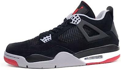 Air Jordan 4 Retro (Black/Cement Grey