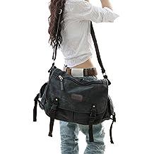 Digital baby Big Vintage Canvas Messenger Bag Book Laptop Shoulder School Ladys Women Men New...