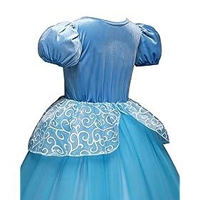 - 415GkVNKTrL - Children Princess Dress Up Costume Cosplay Dress for Girls Toddlers Party Birthday Girls Dresses Wonderful Gift