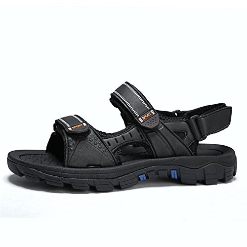 1 spiaggia Traspiranti E Antiscivolo Blu pantofole Sport Scarpe All'aria Wagsiyi Scarpe Colore EU da 3 39 Aperta Nero Blu Sandal Uomo Dimensione xWOq0w0FU8