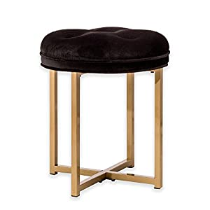 Amazon.com: Hillsdale Maura Tufted Vanity Stool: Kitchen & Dining