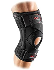Mcdavid Knee Brace Support & Compression Knee Sleeve w/Side Stays & Cross Straps for Knee Stability, Patellar Tendon Support, Tendonitis Pain Relief, Recovery & Prevention from Moderate Injuries